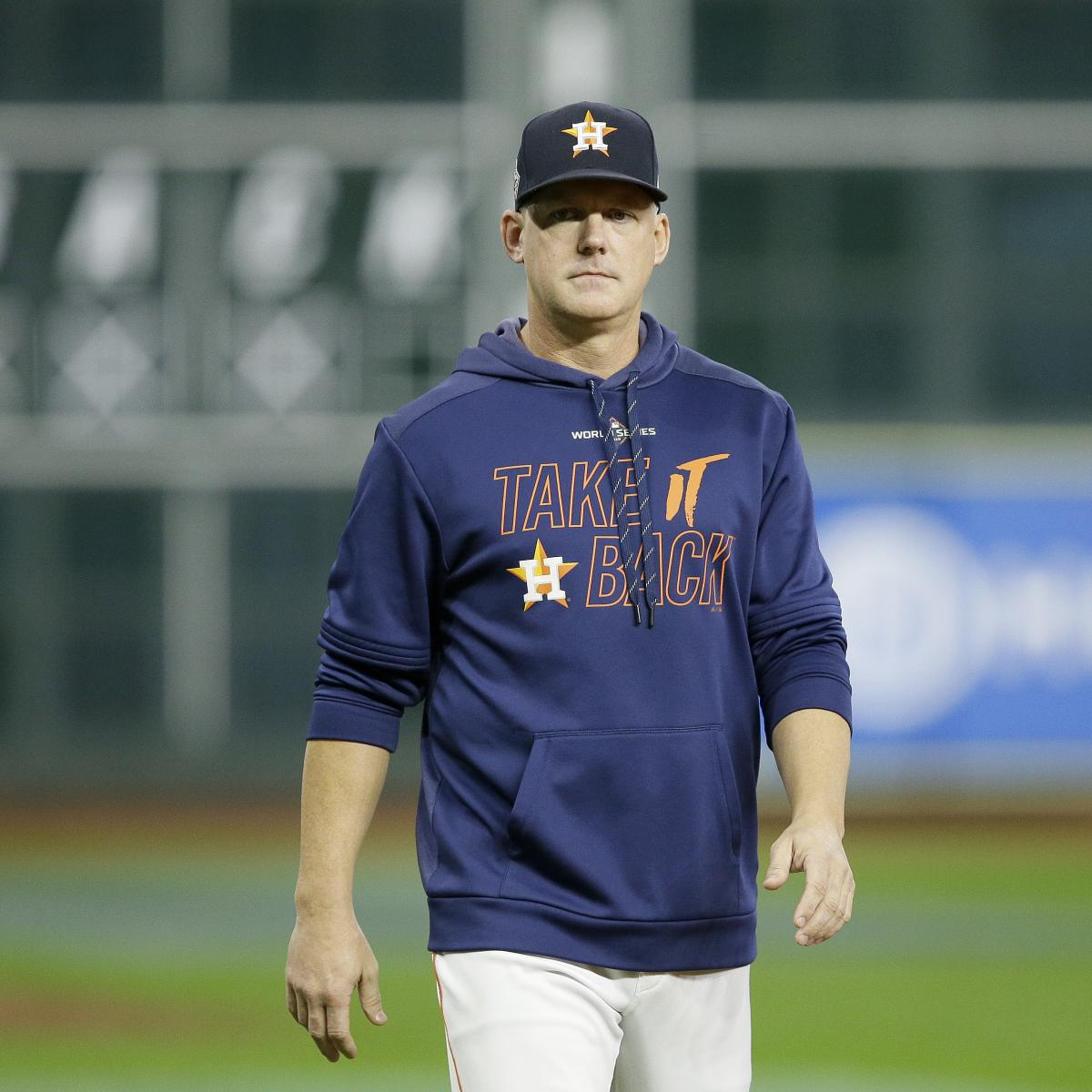 Astros Fire AJ Hinch, Jeff Luhnow for Cheating; Joe Espada to Be Interim Manager