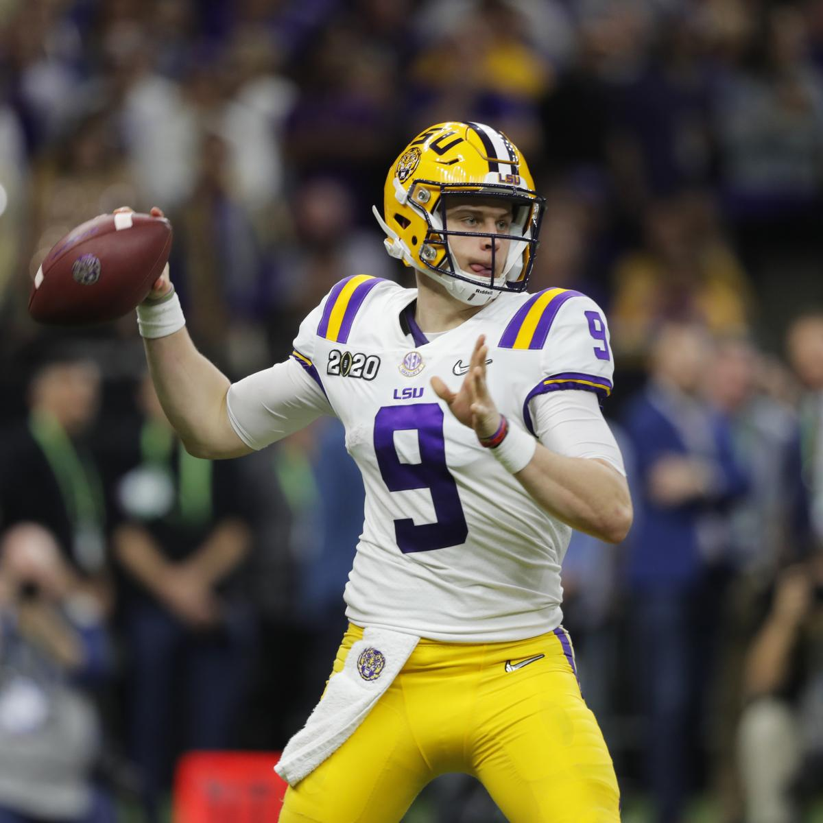 Joe Burrow's 6 TDs Help LSU Dethrone Clemson 42-25 in 2020 CFP Title Game