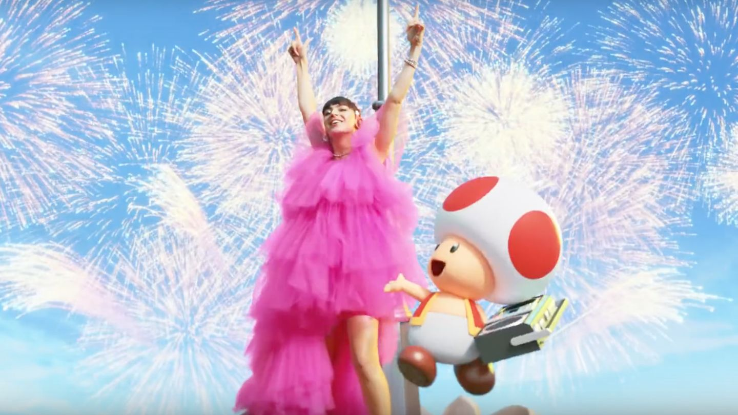 Charli XCX's New Nintendo Theme Song Is Just (Princess) Peachy