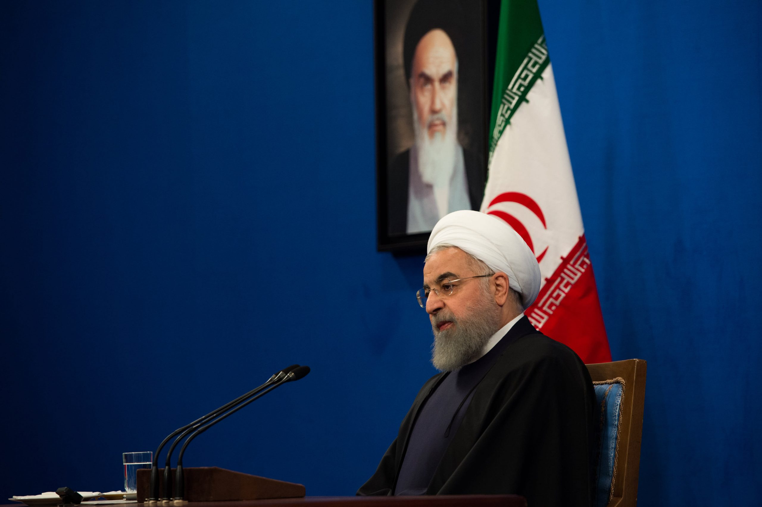 'Danger tomorrow': Iran's Rouhani makes veiled threat to US and EU troops in Middle East