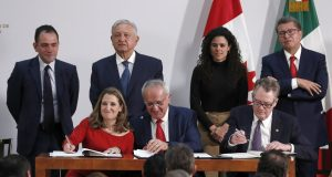 Senate passes US-Canada-Mexico trade deal, a Trump priority