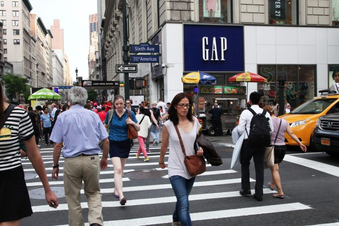 Gap shares jump on announcement it will not spin off Old Navy