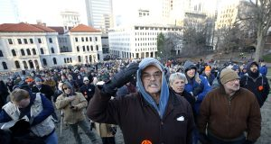 Thousands rally in Virginia's capital for gun rights