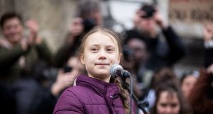 Greta Thunberg says world leaders are running out of time to tackle climate emergency