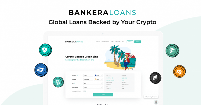 Bankera Loans Introduces the Lowest Loan Minimum on the Crypto Lending Market