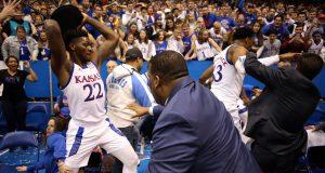 Ugly brawl breaks out at end of Kansas State-Kansas game