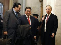 Defense resumes in key impeachment week; Dems seek witnesses