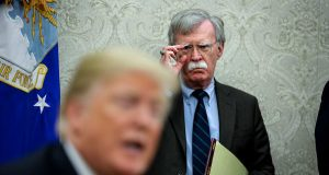 Trump rages after reports that Bolton book claims president tied Ukraine aid to probes