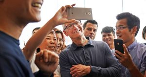 China and Apple's TV service will be under the spotlight when the tech giant reports earnings