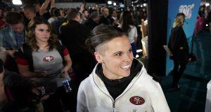 Katie Sowers trailblazer as 1st woman coach at Super Bowl