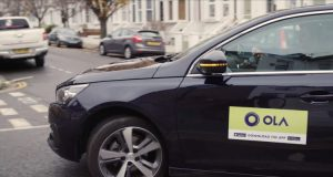Indian ride-hailing firm Ola to launch in London on February 10