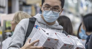Hong Kong reports the city's first death related to the new coronavirus