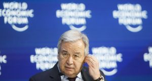UN chief warns 'a wind of madness is sweeping the globe'