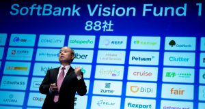 As a top manager leaves amid fundraising woes, SoftBank's vision looks dimmer –