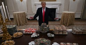 The Chiefs Shouldn't Let Trump Rob Andy Reid of a Fast Food Buffet