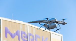 German drone delivery trial paves the way to replacing trucks for inter-office deliveries
