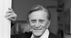 Kirk Douglas rose from poverty to become a king of Hollywood