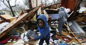 Bad weather moves north as southern storms leave 4 dead