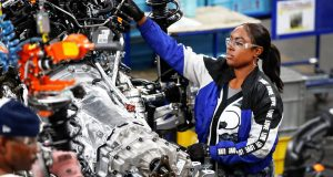 January adds a much stronger-than-expected 225,000 jobs, with a boost from warm weather