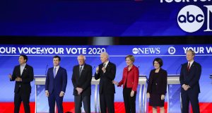 AP FACT CHECK: Examining claims from the Democratic debate