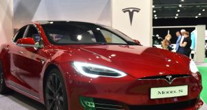 Tesla seems expensive at these prices even when valuing it like a high-growth tech stock