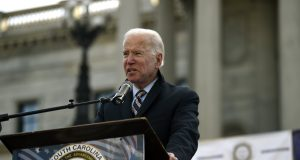 Biden faces competition for black vote in his SC 'firewall'
