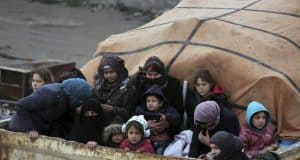 Syrians scramble for refuge in last opposition frontier
