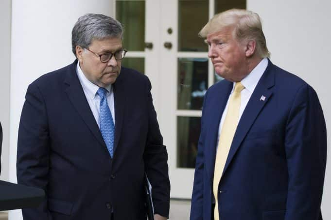 Trump ignores AG Barr's request to stop tweeting about DOJ