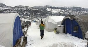 Freezing weather compounds crisis for displaced in Syria