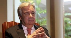 AP Interview: UN chief says new virus poses 'enormous' risks