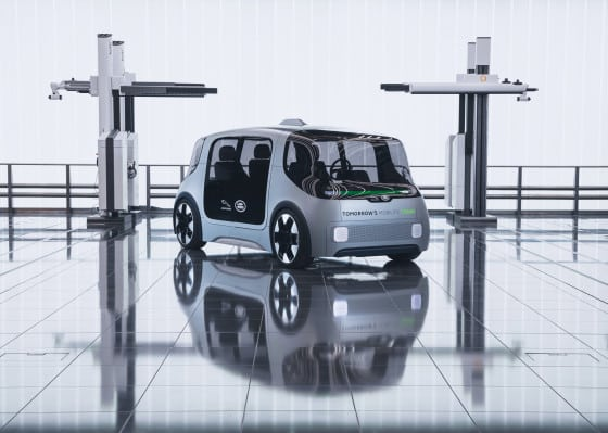 Jaguar Land Rover debuts electric urban mobility concept vehicle with plans for 2021 pilot