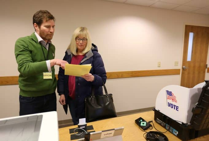Microsoft's voting software is getting its first test in a small Wisconsin town