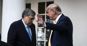Trump tweets Justice Department criticism despite Attorney General Barr's threat to quit