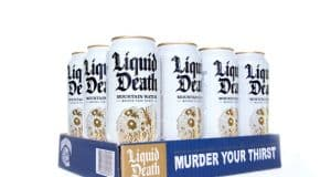 Liquid Death raises $9M to make canned water cool