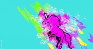 The rise of the winged pink unicorn