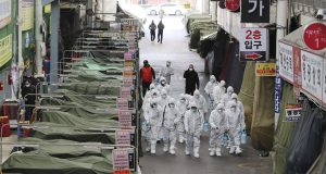 Gripped in Coronavirus Panic, S.Korea Confirms Army Soldier Infections