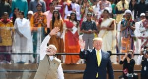 US-China rivalry simmers in India as Trump visits