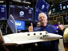 Virgin Galactic is jumping again as traders look to see if quarterly report can justify the hype