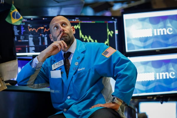 The Dow Jones drops nearly 1200 points as coronavirus fears batter stock markets