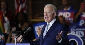 Joe Biden wins Massachusetts primary, NBC News projects, a crushing blow to Elizabeth Warren
