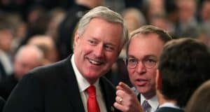 Trump names Mark Meadows White House chief of staff, replacing Mick Mulvaney