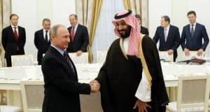 Russia, Saudi Arabia squabble over oil strategy, but the real battle is with the US