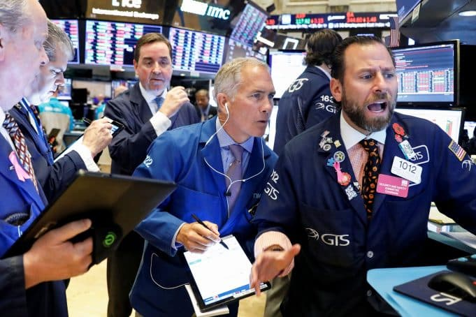 Stock market live updates: Dow futures drop 200, ECB stimulus, jobless claims jump
