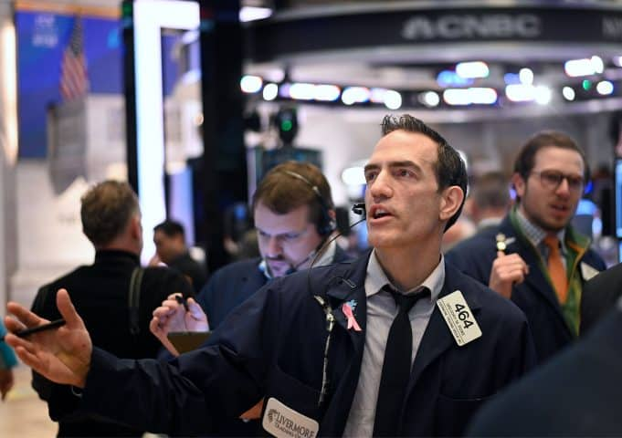 The Dow is set to open 600 points higher, a second day of gains; Nasdaq futures hit 'limit up'