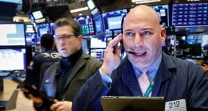 Decline in stock futures worsens as investors await a stimulus agreement — Futures hit 'limit down'