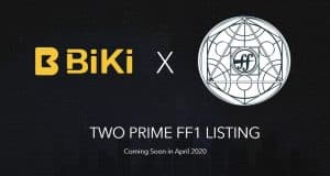 BiKi.com Lists Two Prime's FF1 Macro Token, a New Asset Class