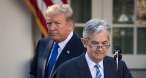 Powell is expected to squash idea of negative rates, even as Trump says US would benefit