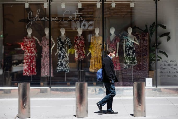 Retail sales plunge a record 16.4% in April, far worse than predicted