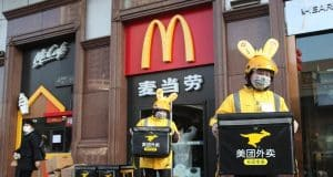 China's meals offer large Meituan hits $100B valuation amid pandemic