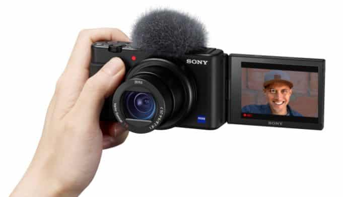 Sony's ZV-1 compact digicam zooms in on vloggers